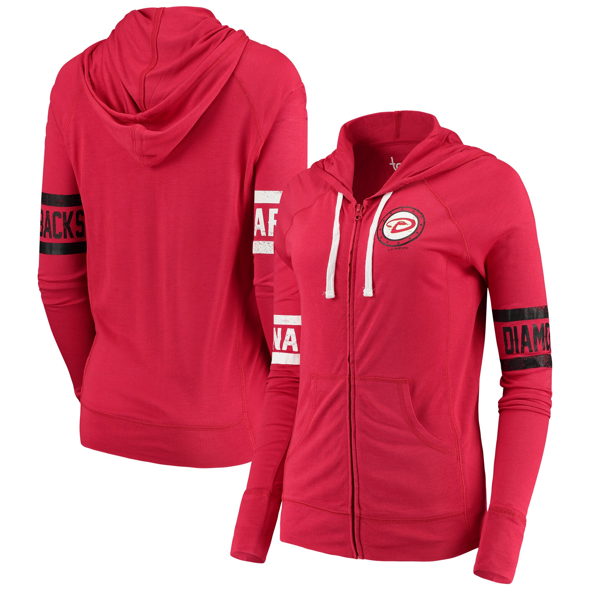 Arizona Diamondbacks Touch by Alyssa Milano Women's Postseason Hoodie - Red