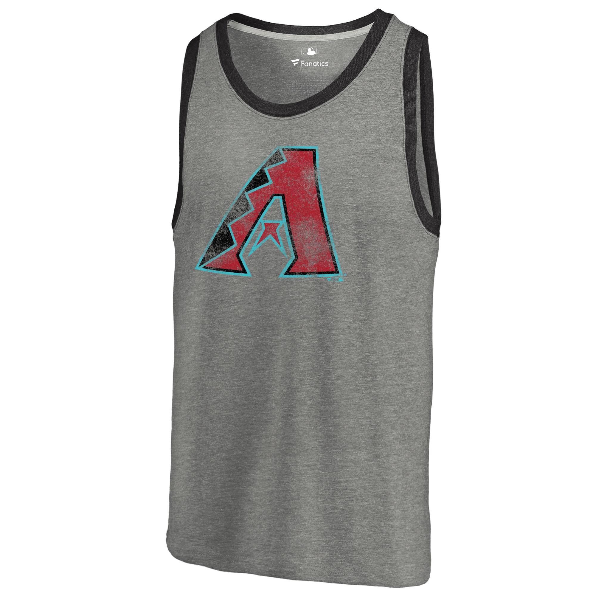 Arizona Diamondbacks Distressed Team Tank Top - Ash