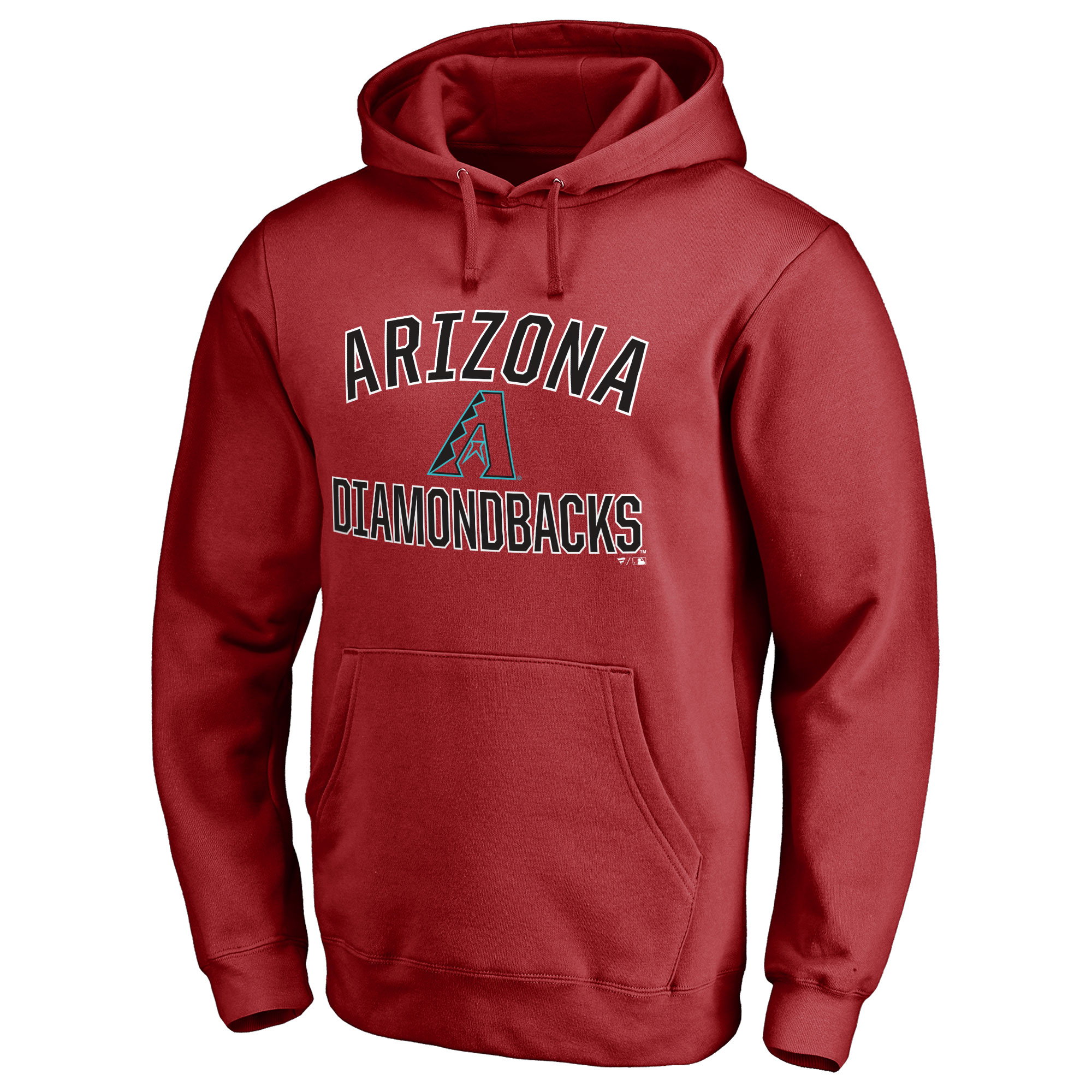 Arizona Diamondbacks Victory Arch Pullover Hoodie - Red