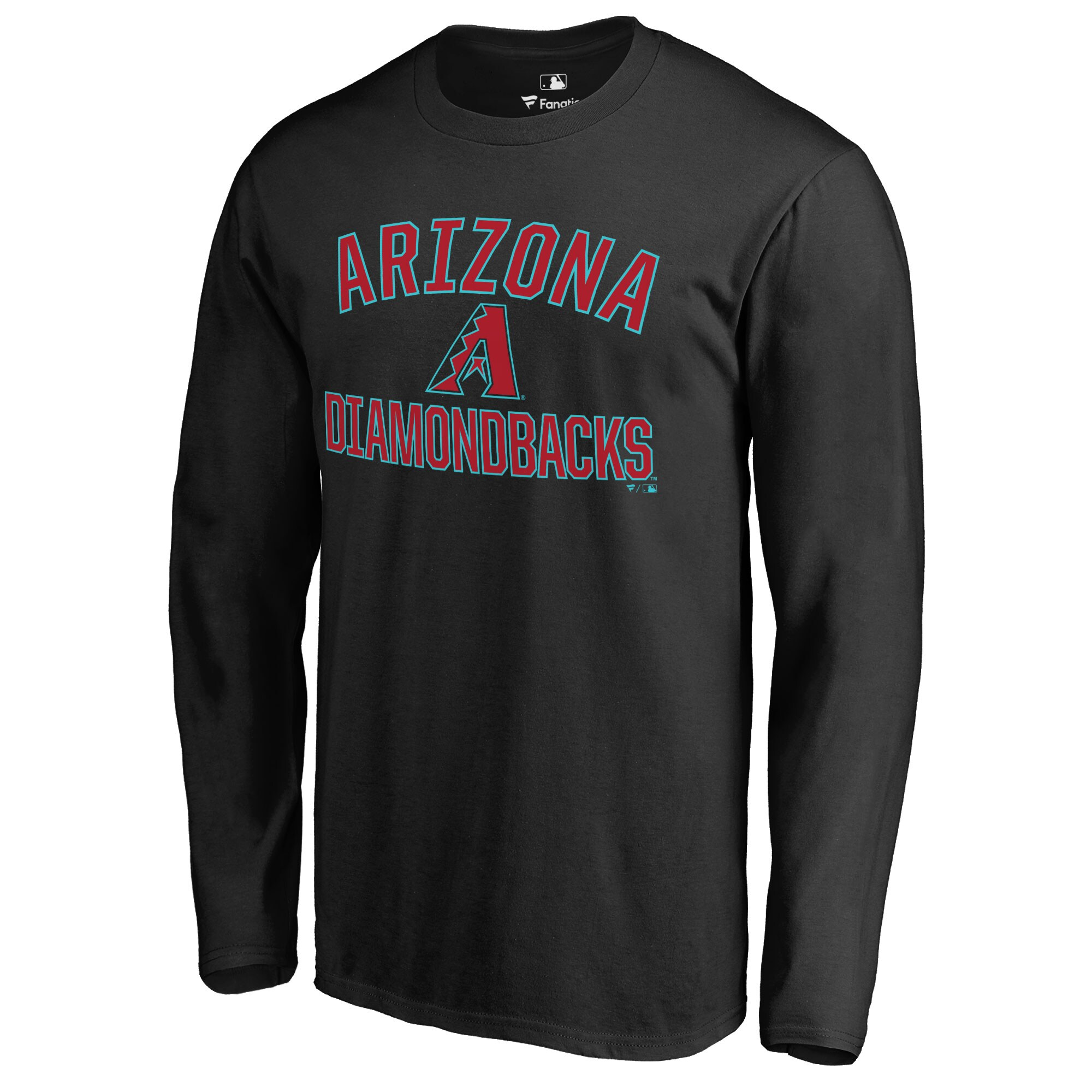 Arizona Diamondbacks Victory Arch Long Sleeve T-Shirt - Black