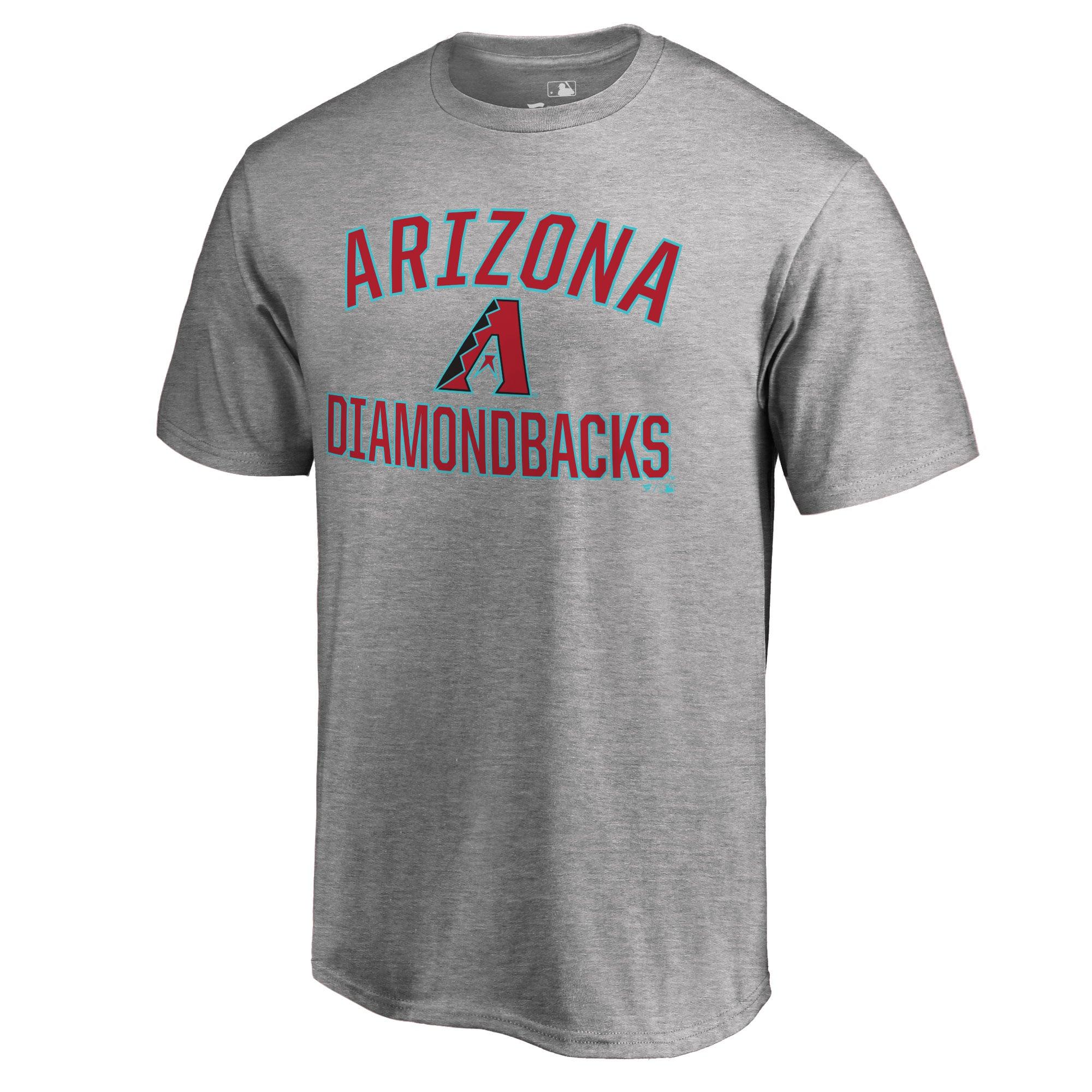 Arizona Diamondbacks Victory Arch T-Shirt - Ash
