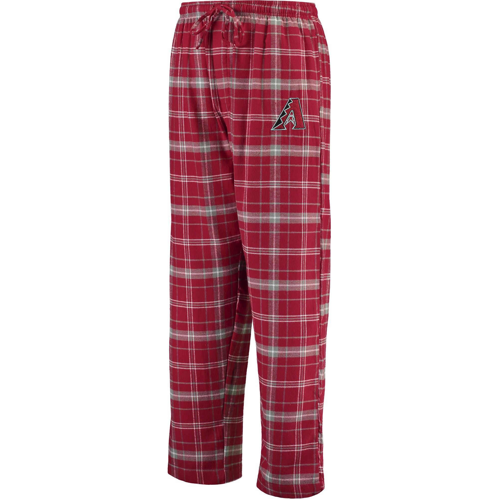 Arizona Diamondbacks Concepts Sport Ultimate Plaid Flannel Pants - Cardinal/Gray