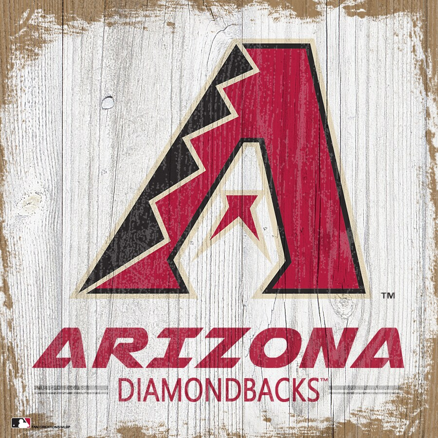 Arizona Diamondbacks 6'' x 6'' Team Logo Block