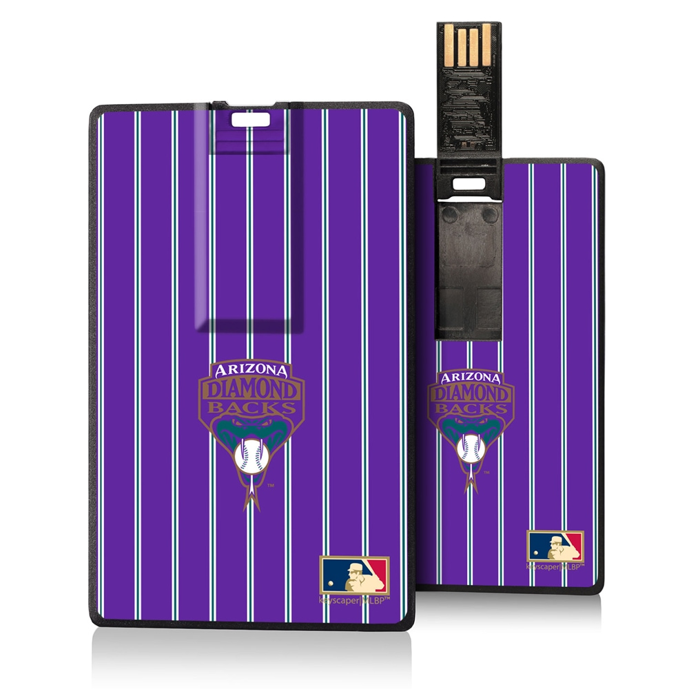 Arizona Diamondbacks 1999-2006 Cooperstown Pinstripe Credit Card USB Drive