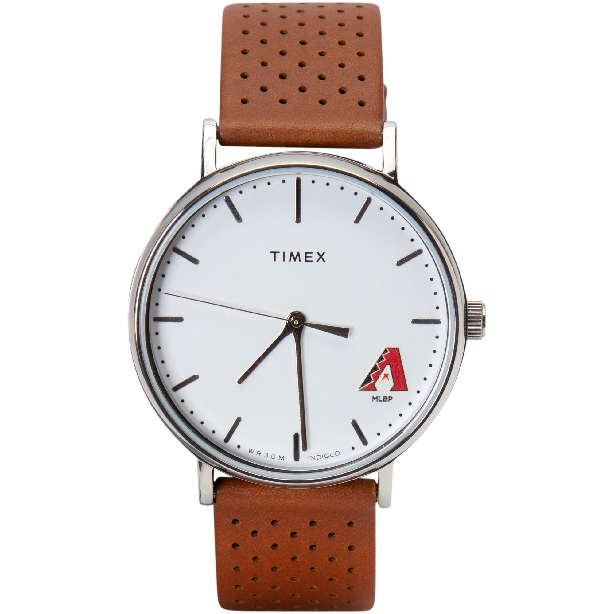 Arizona Diamondbacks Timex Bright Whites Tribute Collection Watch