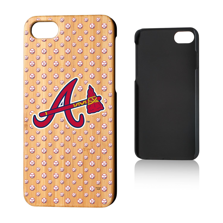 Atlanta Braves iPhone 7/8 Baseball Bamboo Case