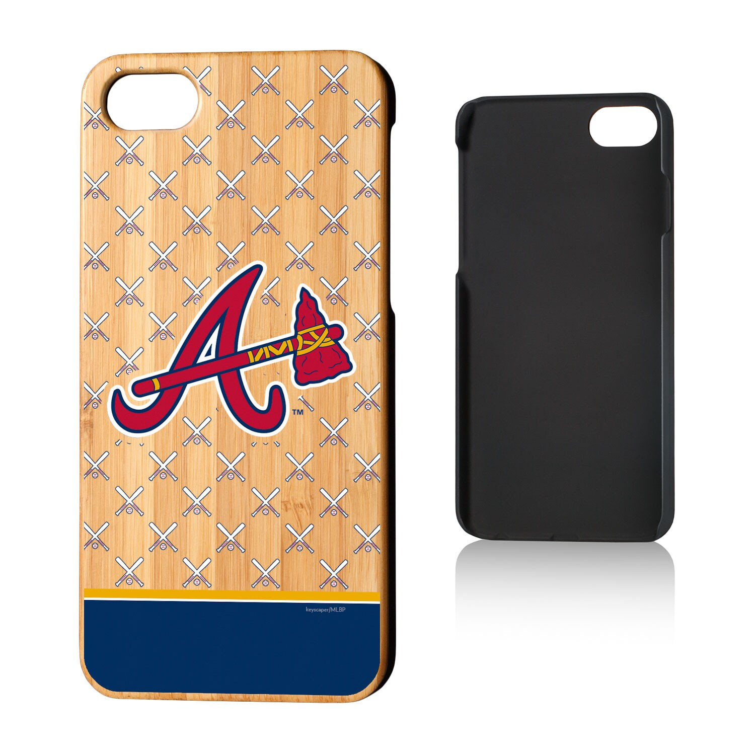 Atlanta Braves iPhone 7/8 Bats Bamboo Case