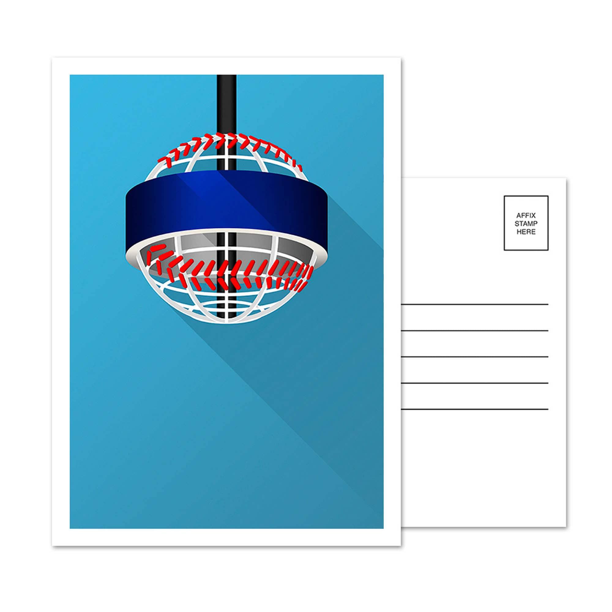 Atlanta Braves Truist Park 5-Pack Minimalist Postcard Set