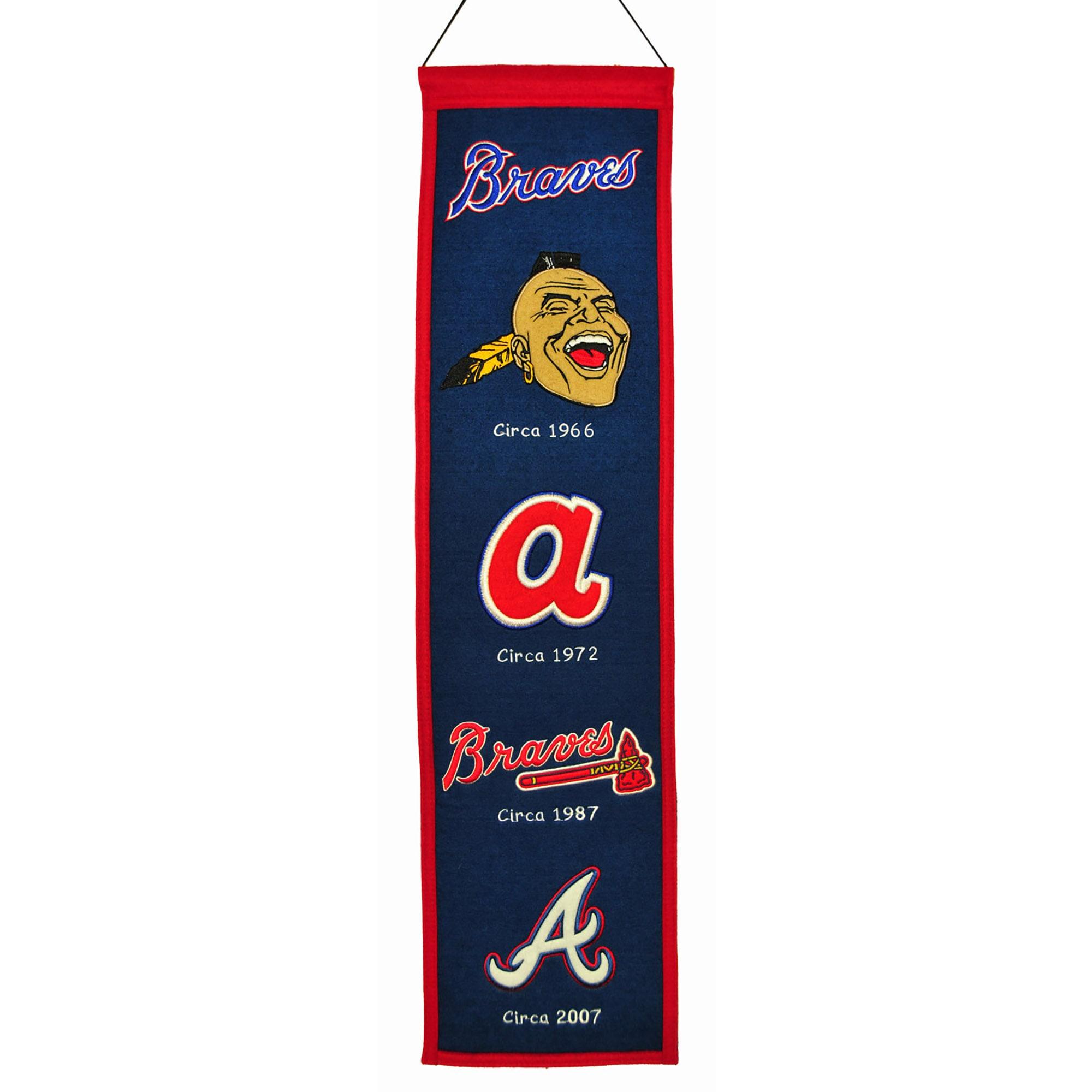 "Atlanta Braves 8"" x 32"" Heritage Banner"