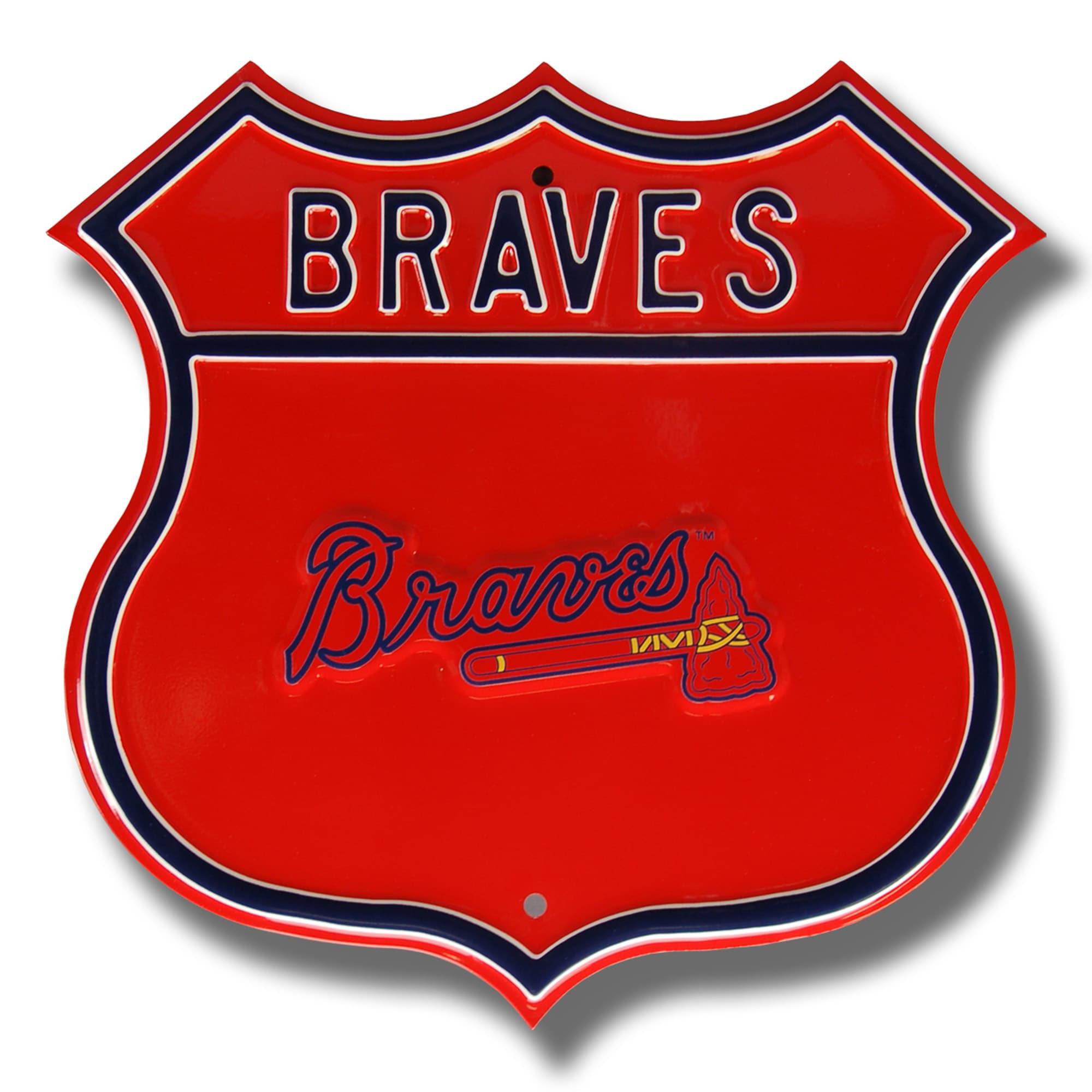 "Atlanta Braves 16"" Route Sign"