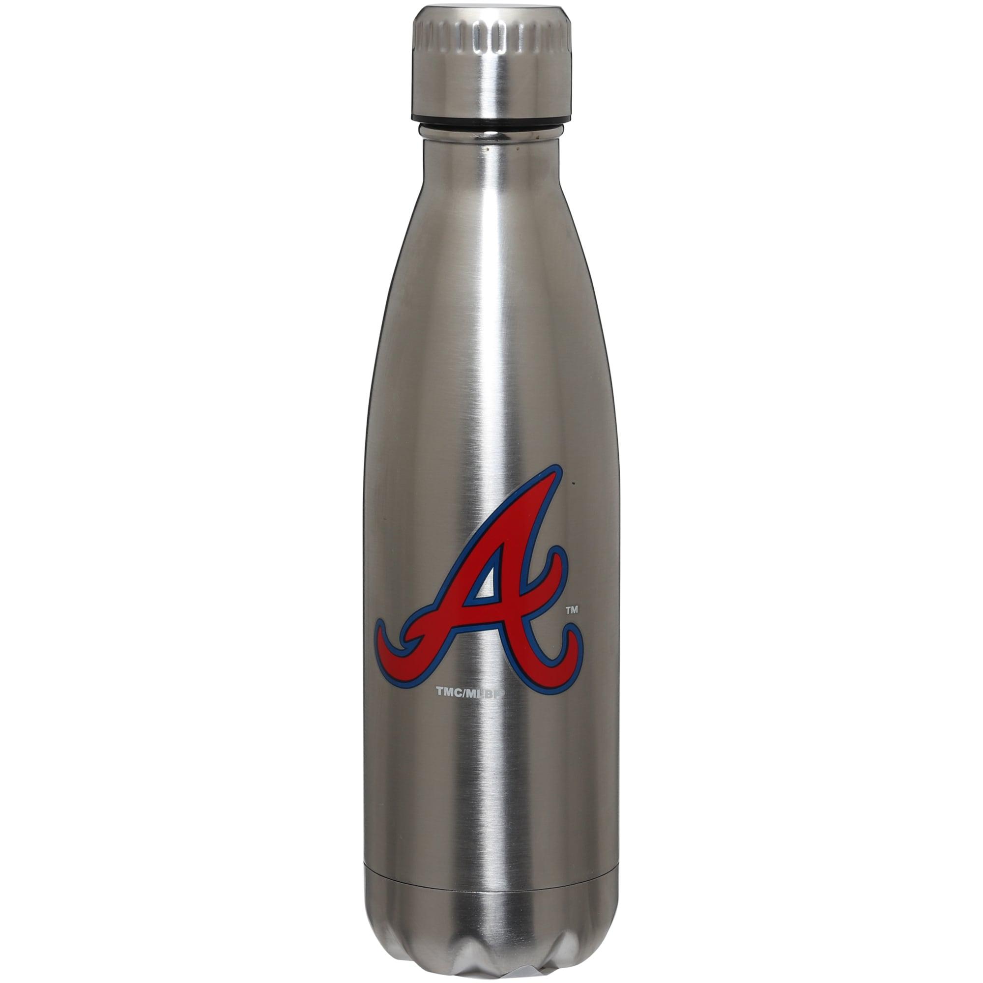 Atlanta Braves 16oz. Stainless Steel Water Bottle