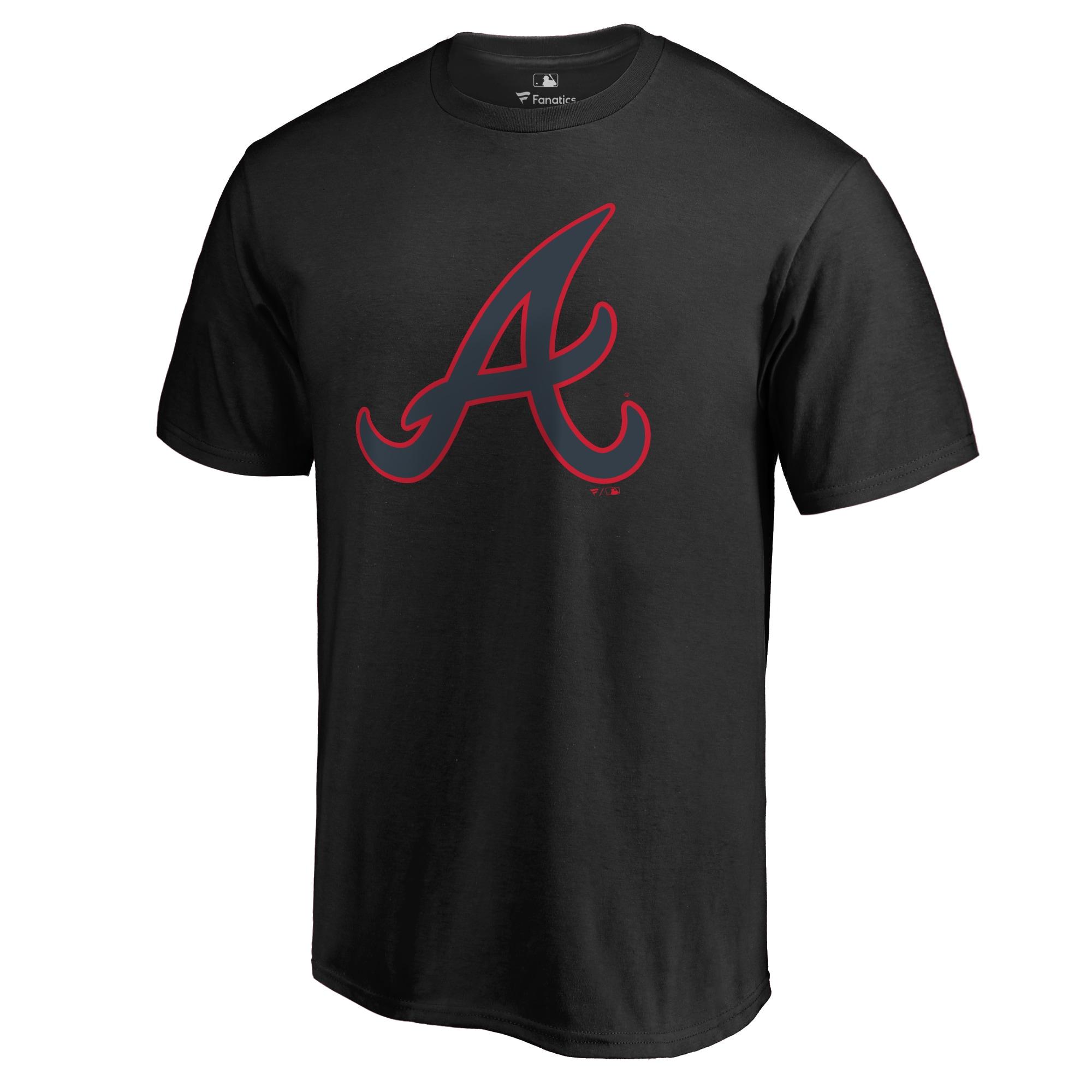 Atlanta Braves Taylor T-Shirt - Black