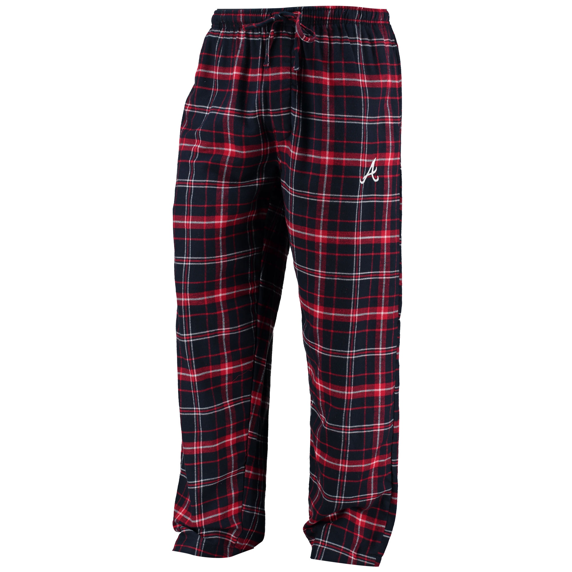 Atlanta Braves Concepts Sport Ultimate Plaid Flannel Pants - Navy/Red