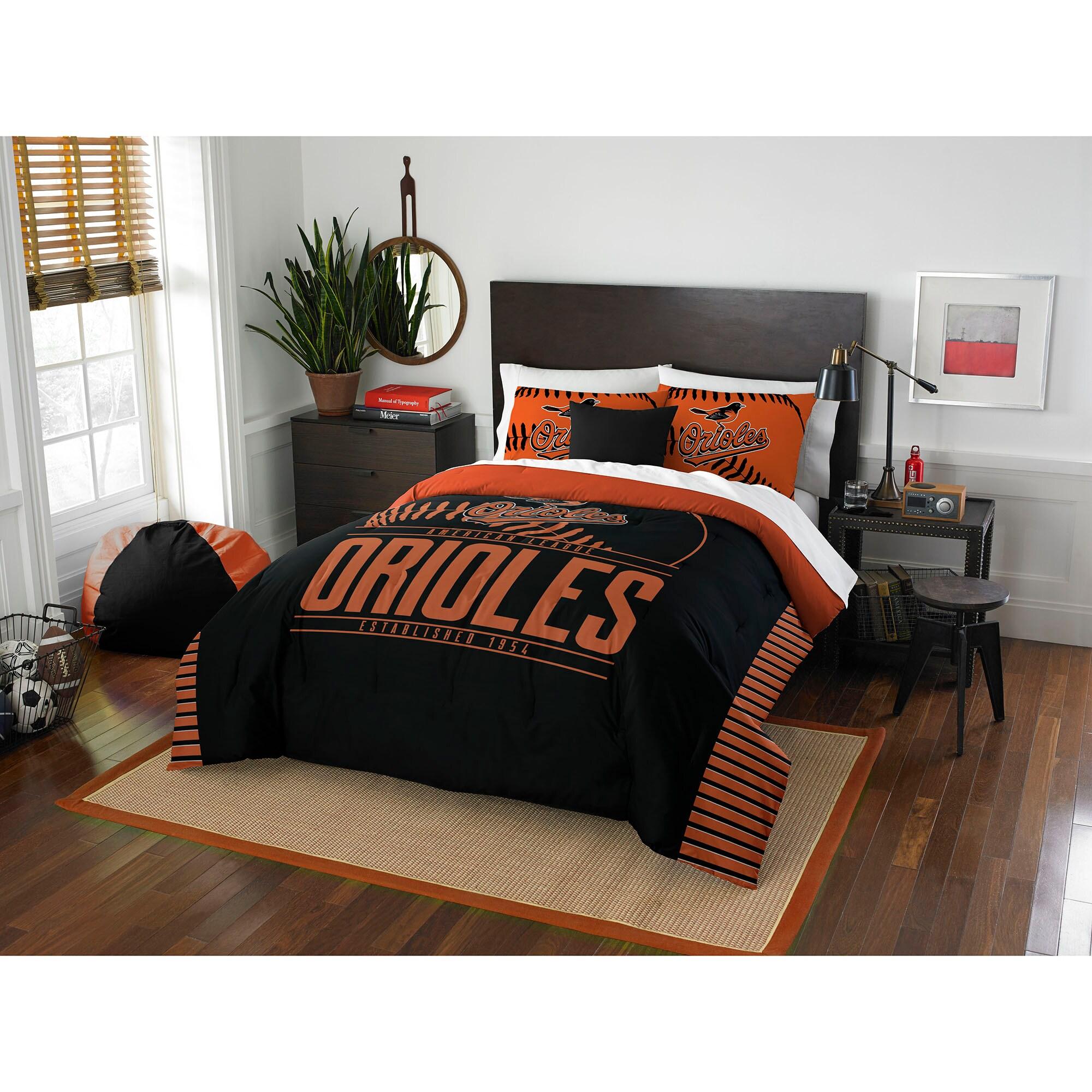 Baltimore Orioles The Northwest Company Grand Slam Full/Queen Comforter Set