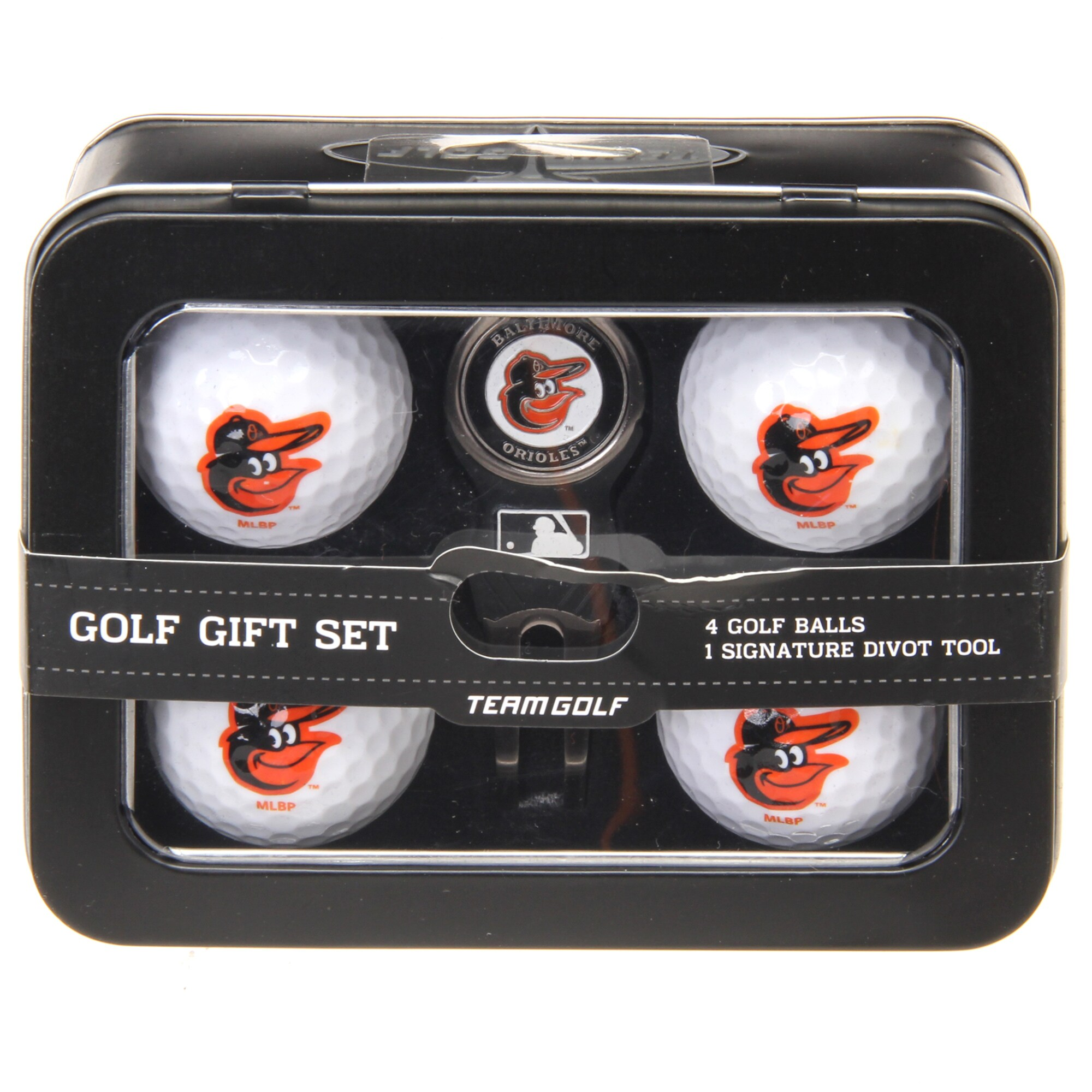 Baltimore Orioles 2016 4 Golf Ball and Divot Tool Set