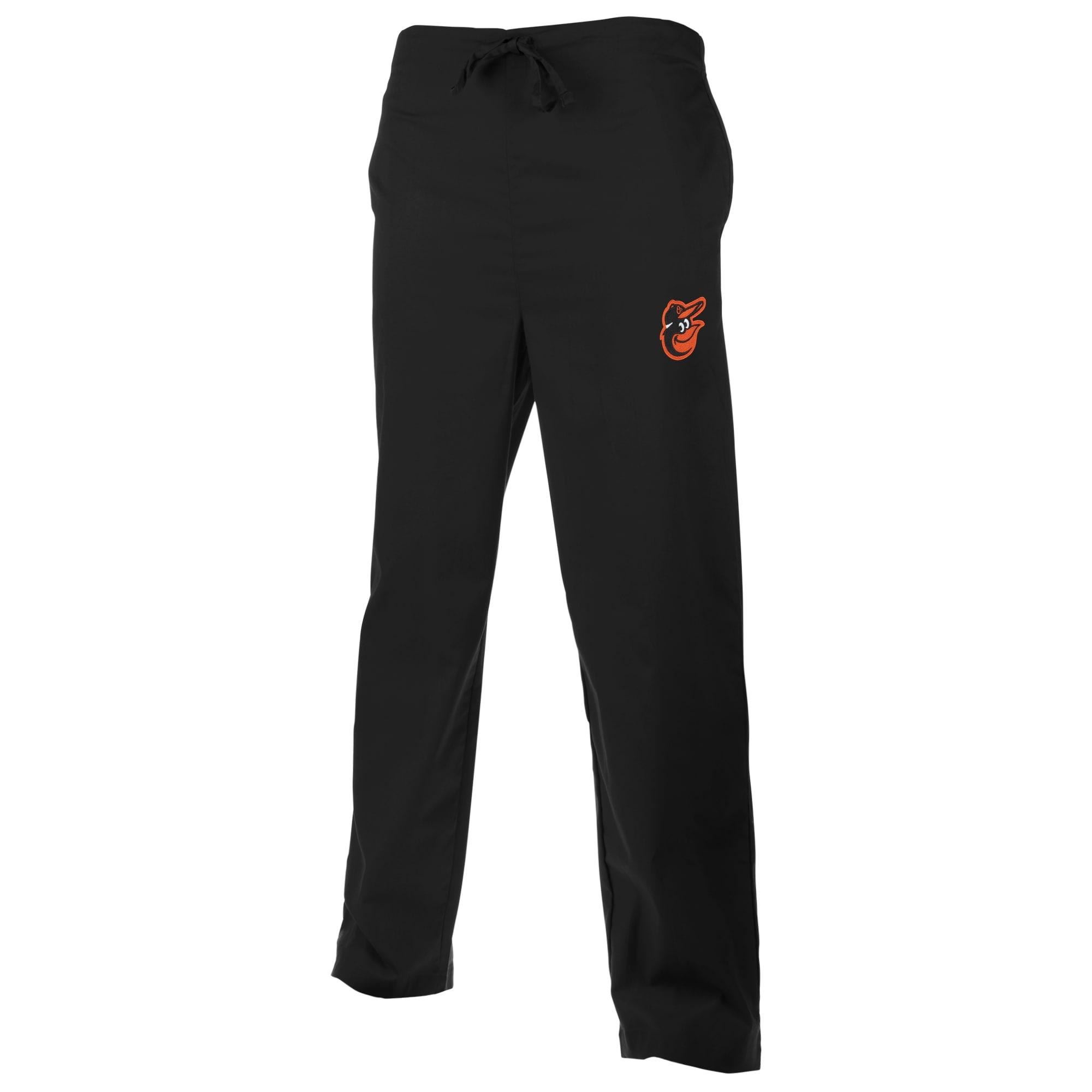 Baltimore Orioles Unisex Scrub Pants - Black