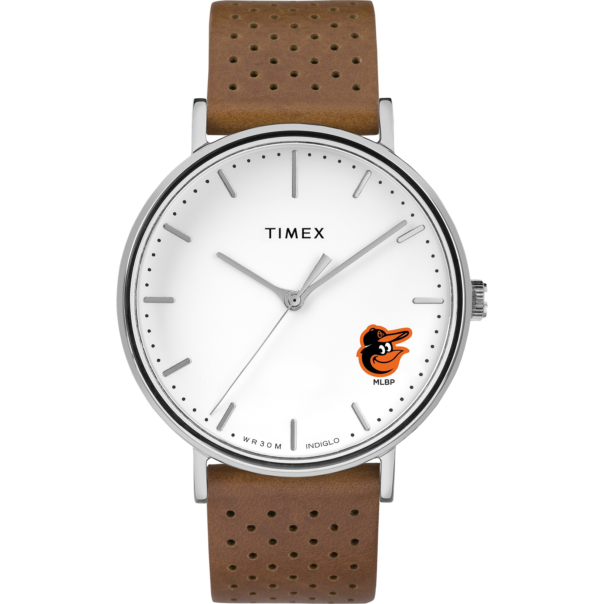 Baltimore Orioles Timex Bright Whites Tribute Collection Watch