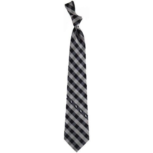 Chicago White Sox Woven Checkered Tie