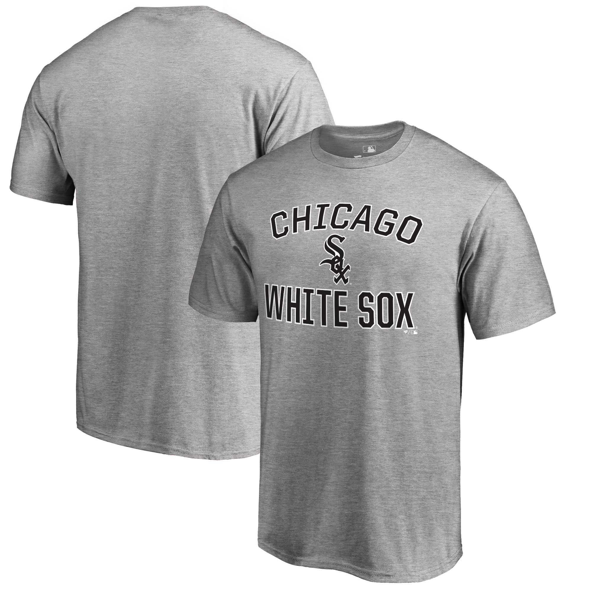 Chicago White Sox Big & Tall Victory Arch T-Shirt - Ash