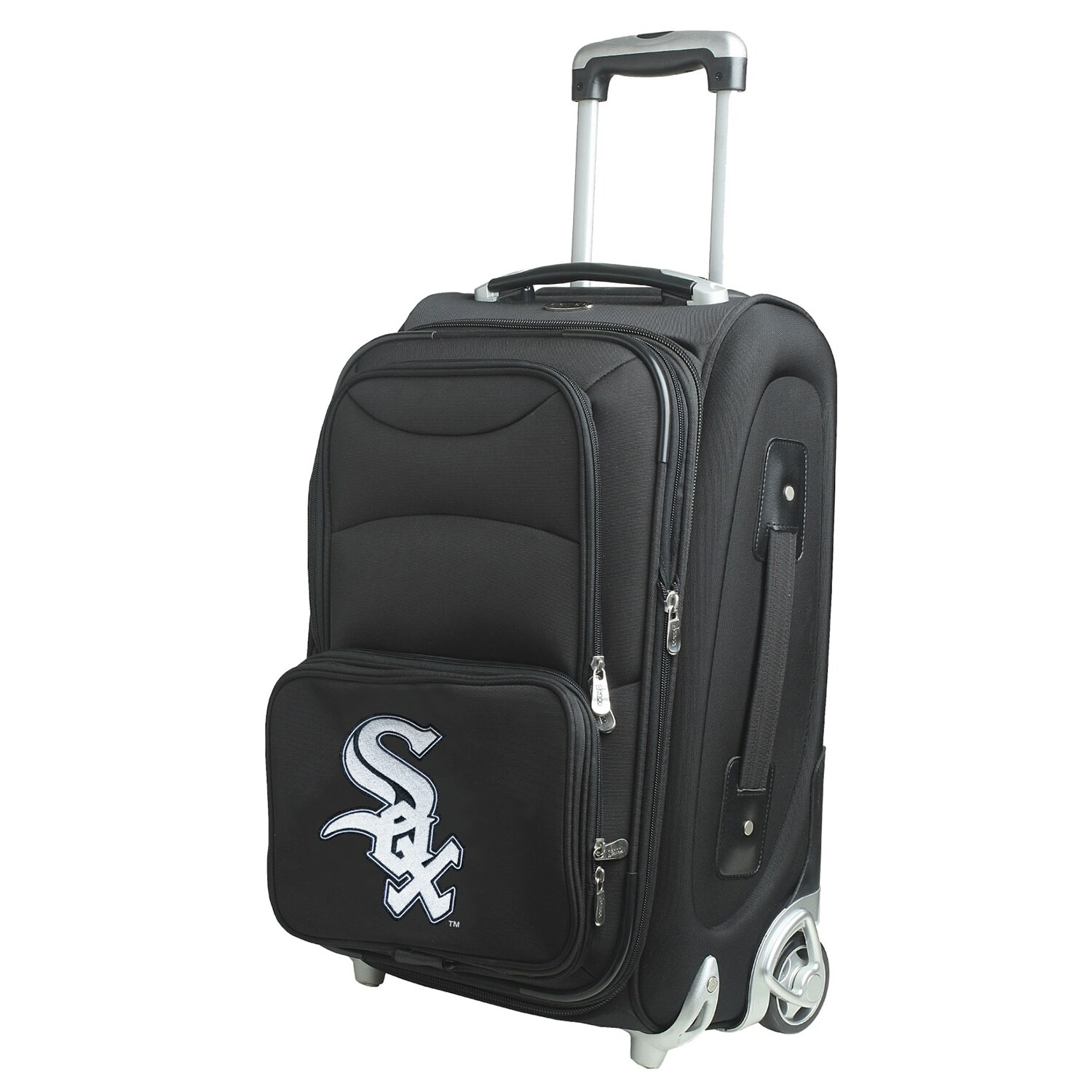 """Chicago White Sox 21"""" Rolling Carry-On Suitcase"""