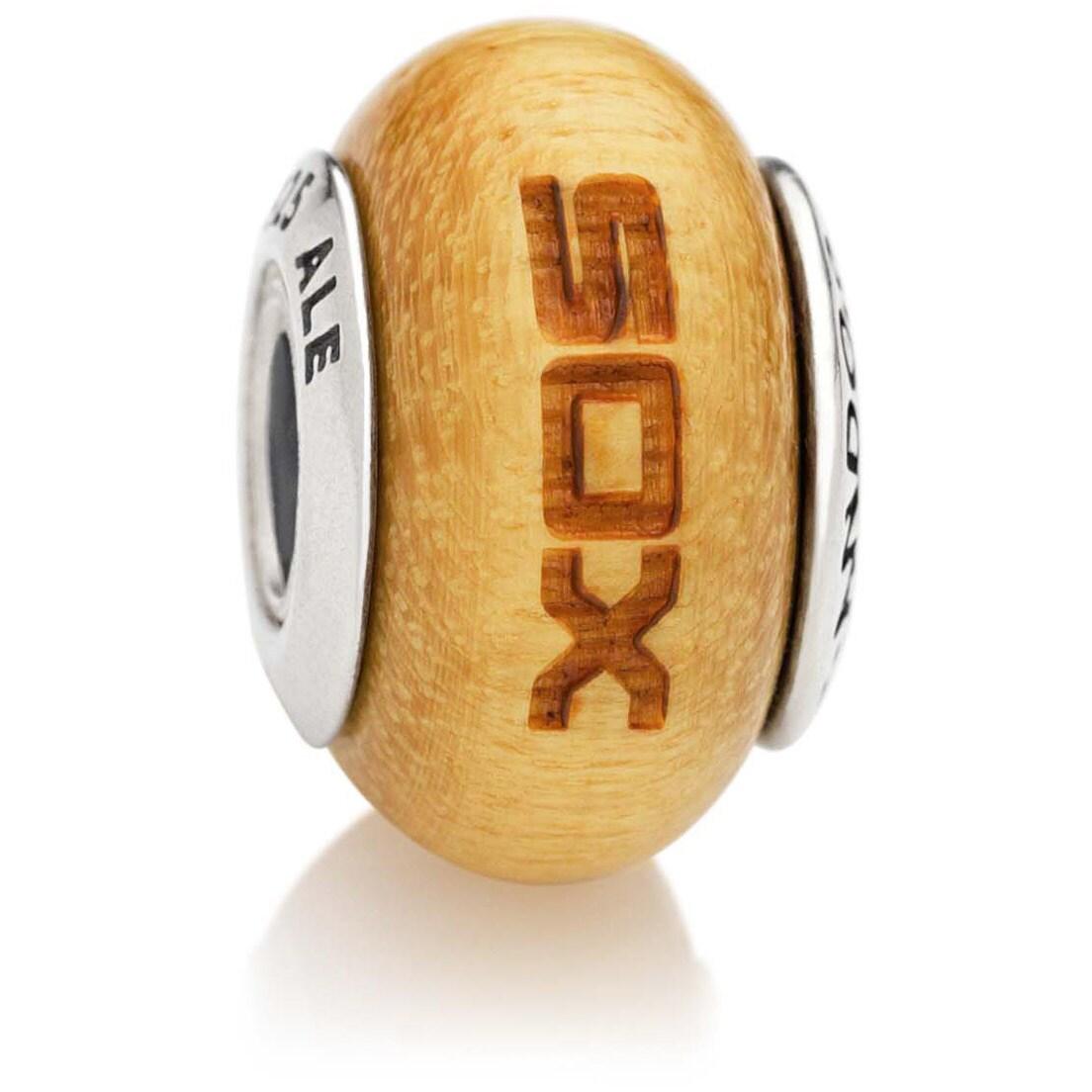 Chicago White Sox Pandora Women's Wood Charm