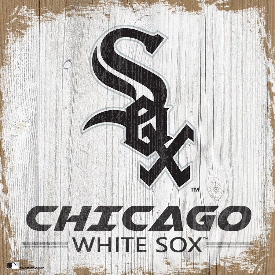 Chicago White Sox 6'' x 6'' Team Logo Block