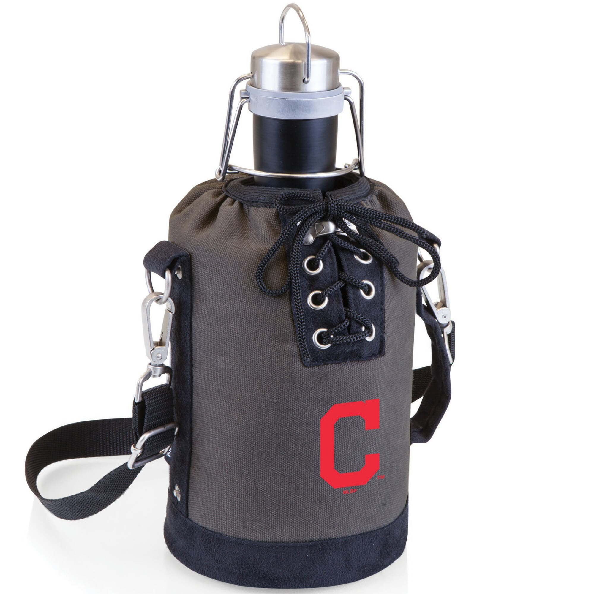 Cleveland Indians Growler Tote Set