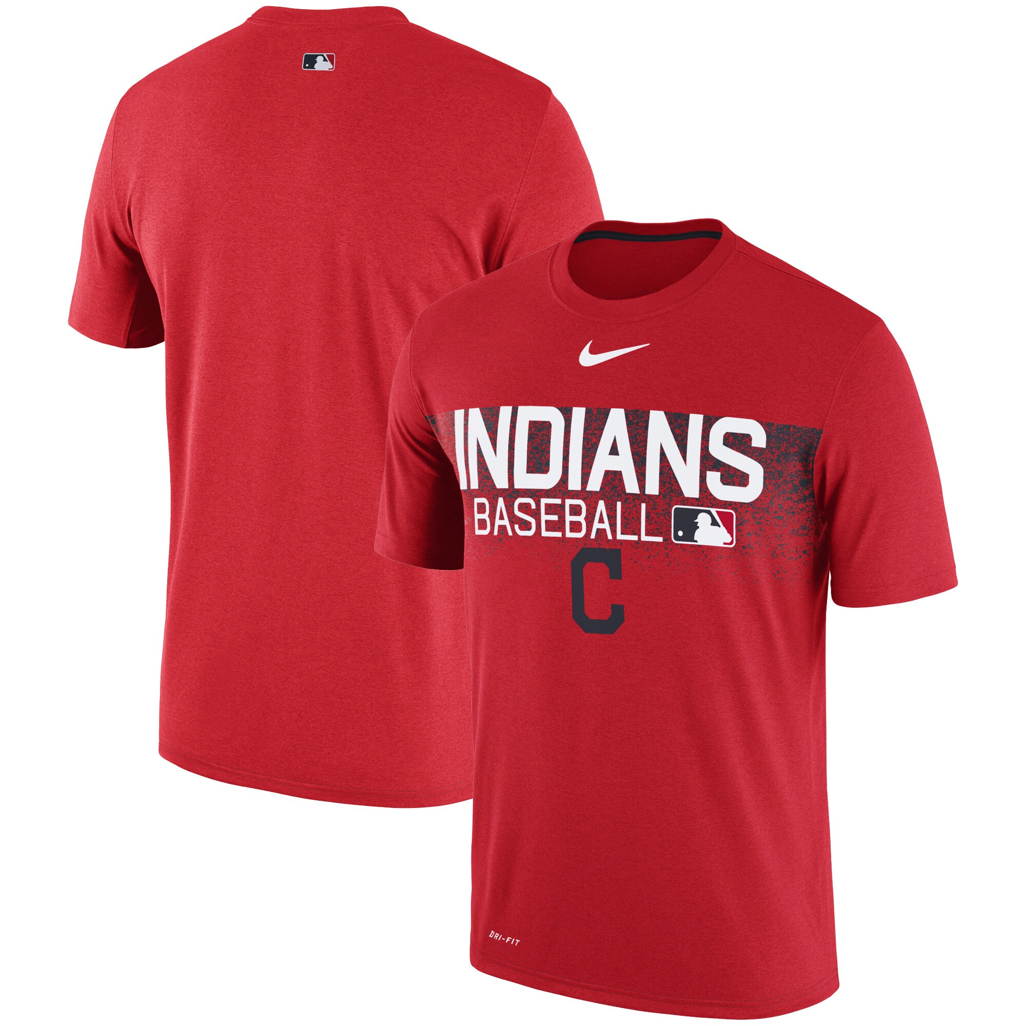 Cleveland Indians Nike Authentic Collection Legend Team Issued Performance T-Shirt - Red