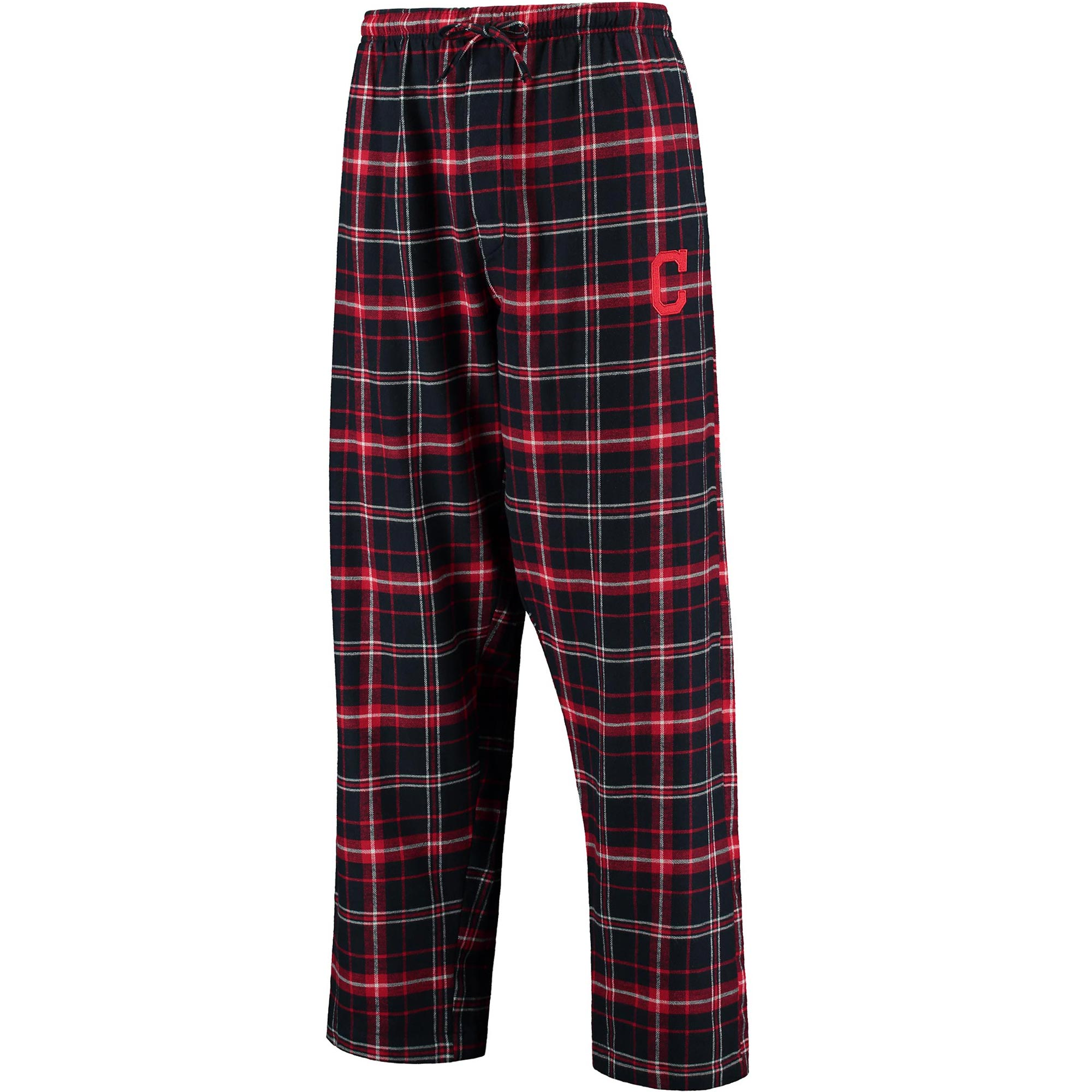 Cleveland Indians Concepts Sport Ultimate Plaid Flannel Pants - Navy/Red