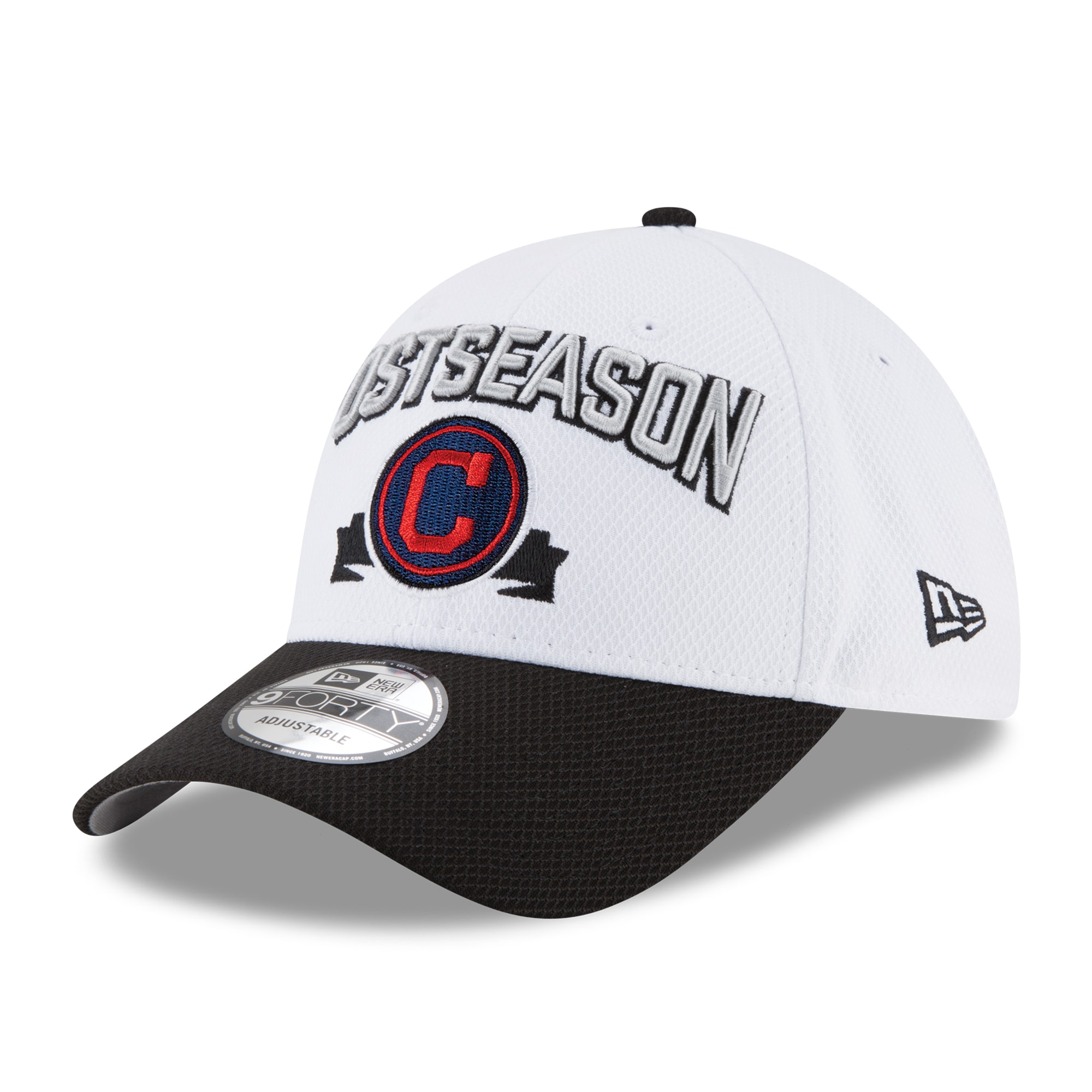 Cleveland Indians New Era 2016 Division Series Winner Locker Room 9FORTY Adjustable Hat - White