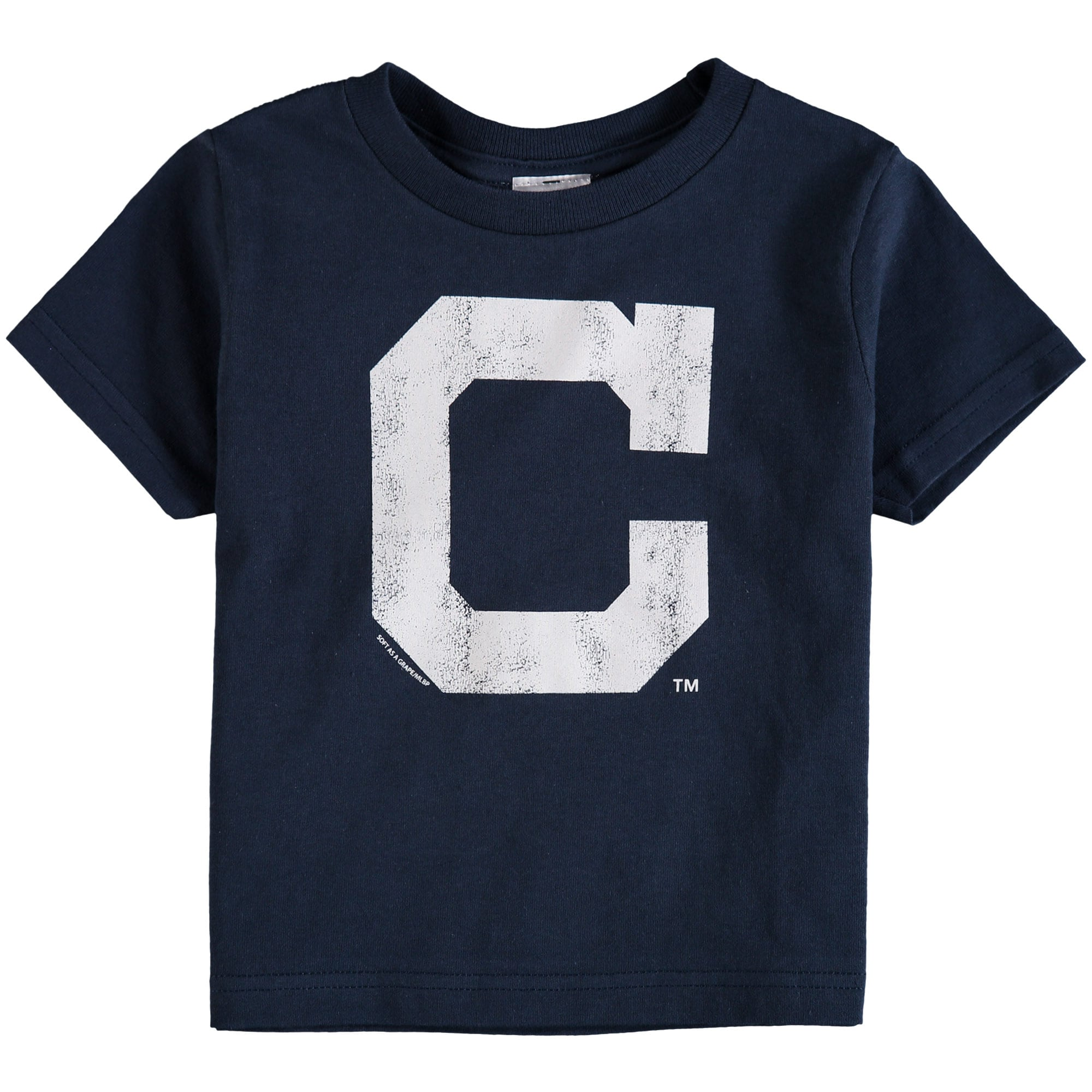 Cleveland Indians Soft As A Grape Toddler Cooperstown Collection Shutout T-Shirt - Navy