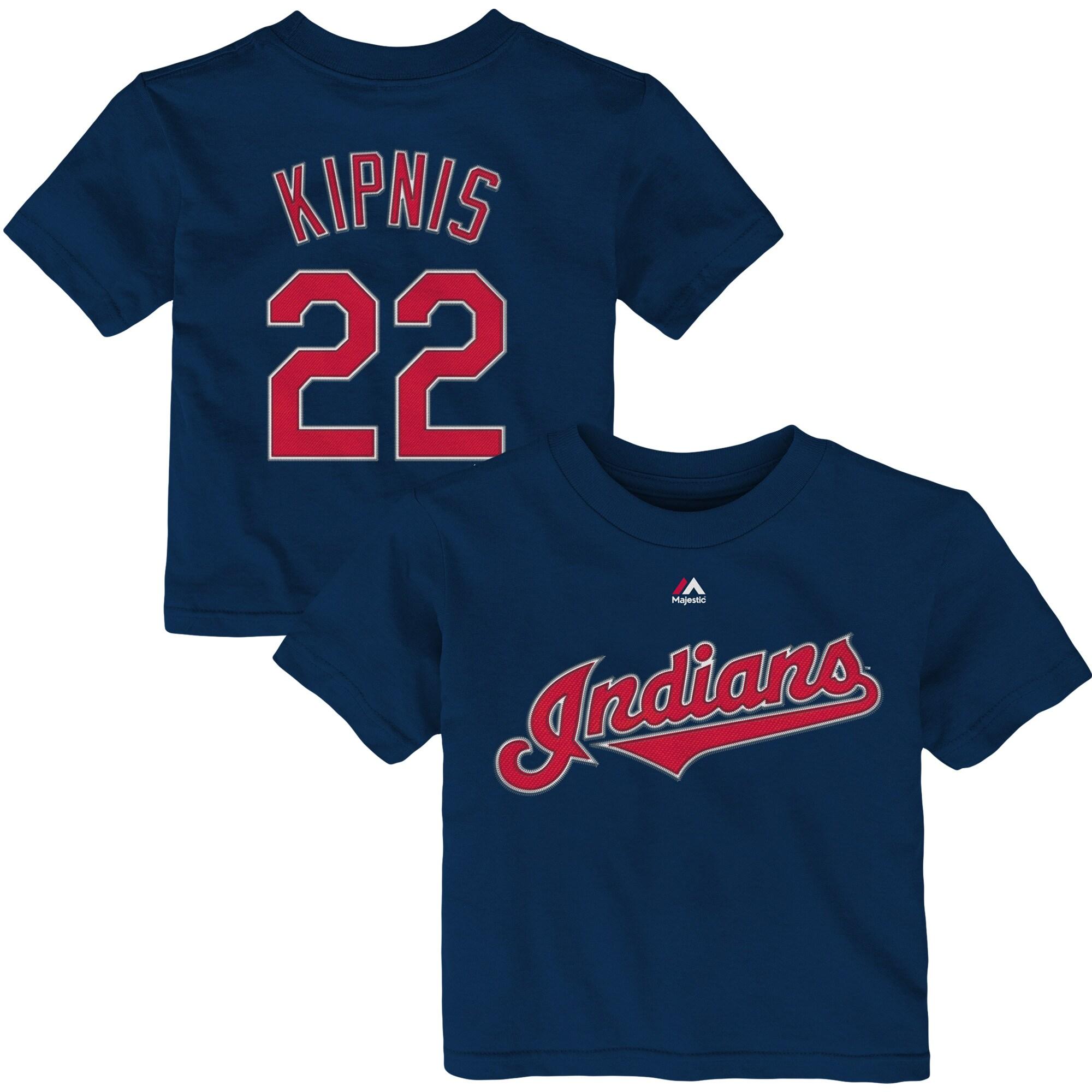 Jason Kipnis Cleveland Indians Majestic Infant Player Name & Number T-Shirt - Navy