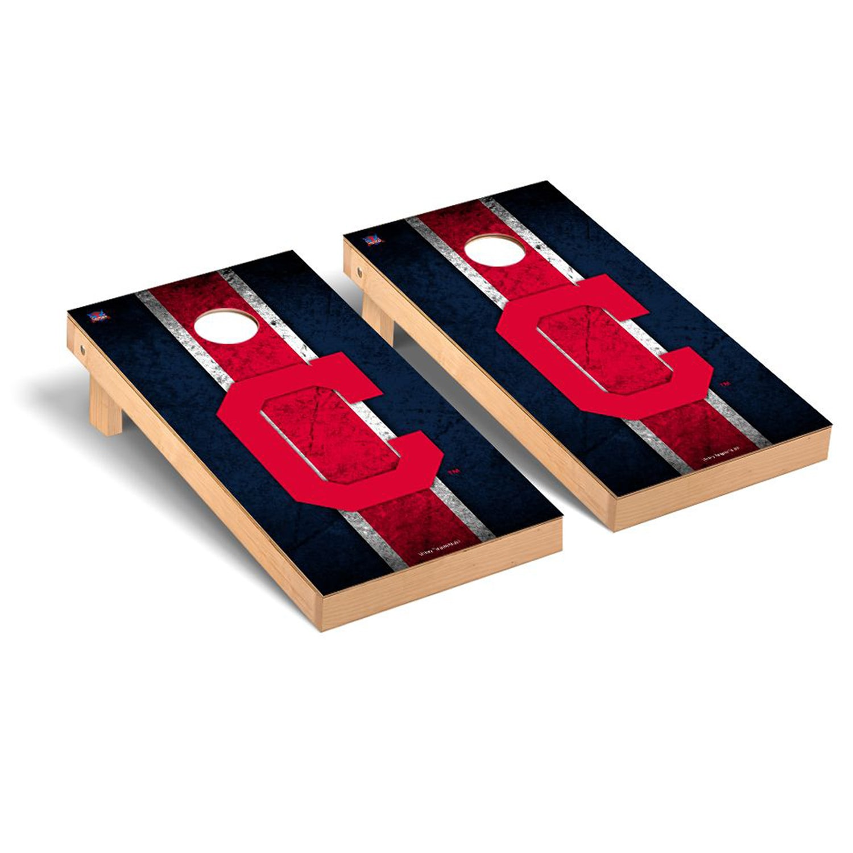 Cleveland Indians 2' x 4' Vintage Cornhole Board Tailgate Toss Set