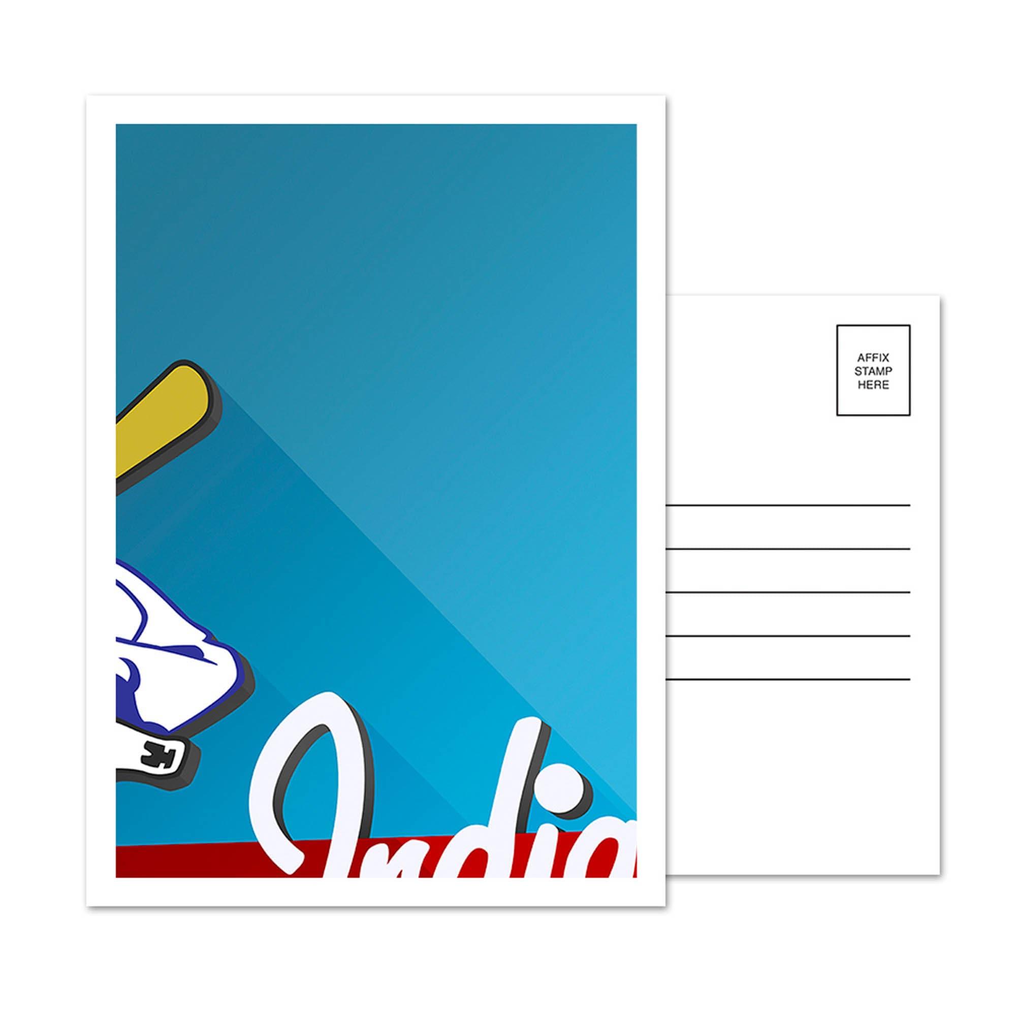 Cleveland Indians Cleveland Municipal Stadium 5-Pack Minimalist Postcard Set