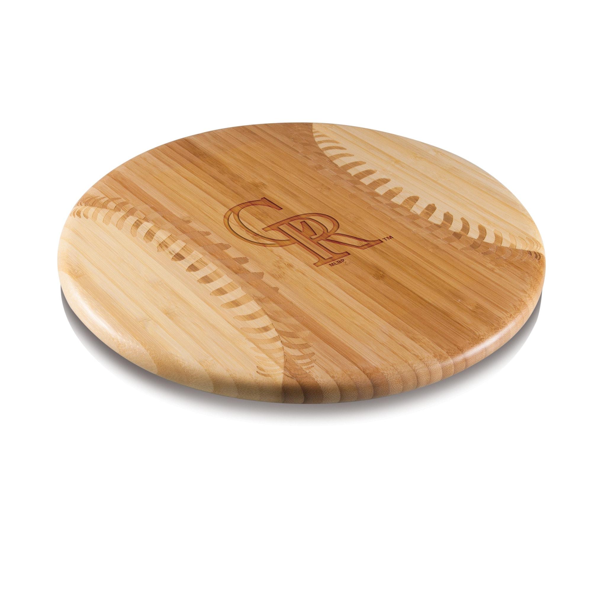 Colorado Rockies Home Run Bamboo Cutting Board