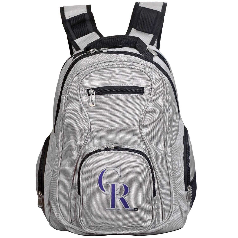 Colorado Rockies Backpack Laptop - Gray