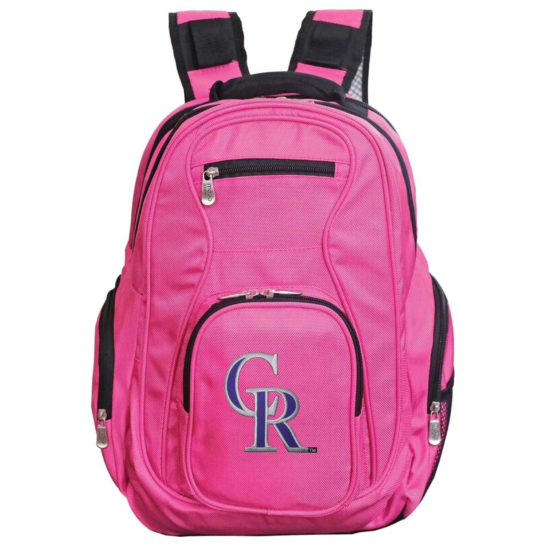 Colorado Rockies Backpack Laptop - Pink