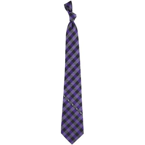Colorado Rockies Woven Checkered Tie