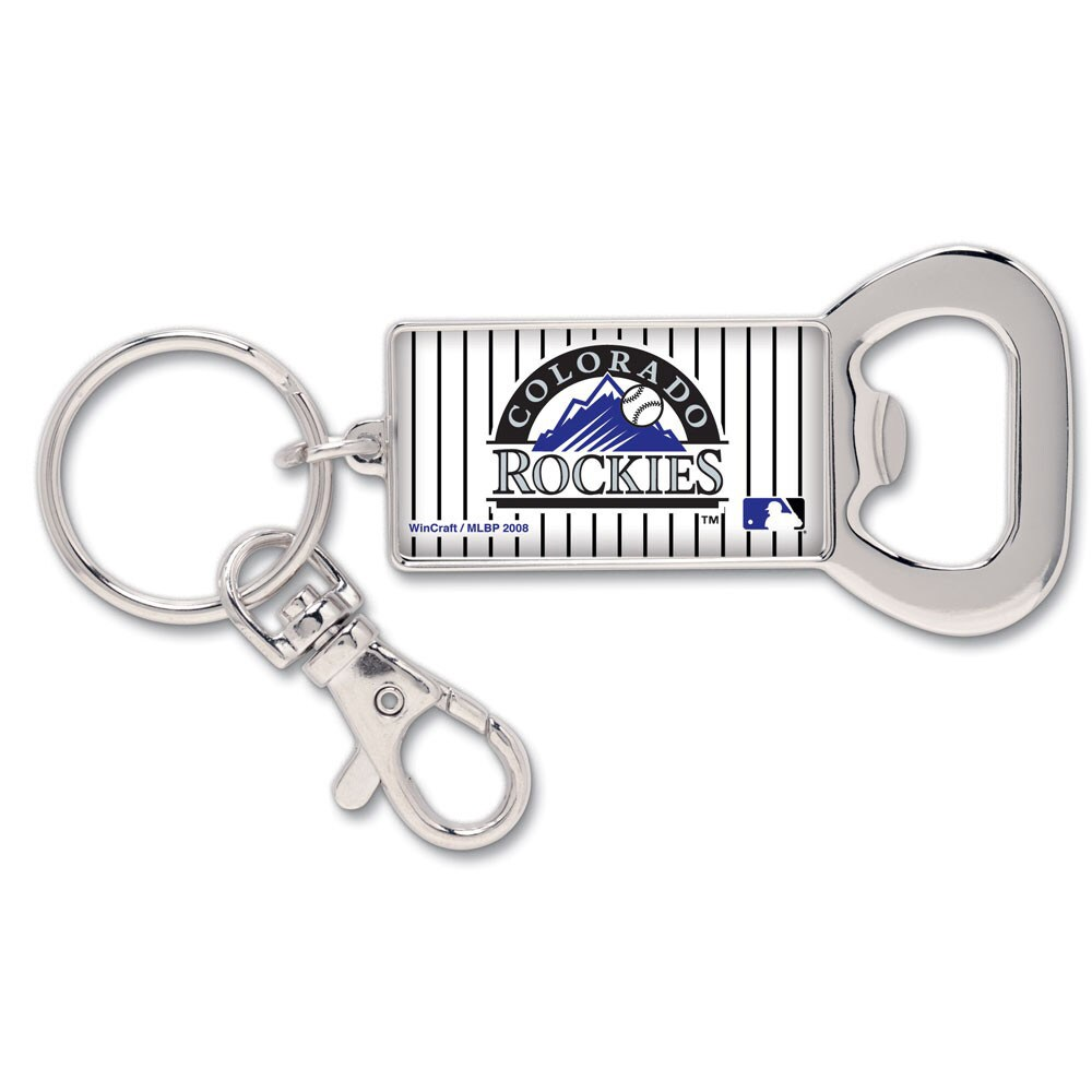 Colorado Rockies WinCraft Bottle Opener Key Ring Keychain