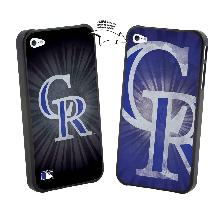 Colorado Rockies Large Logo Lenticular iPhone 5 Case