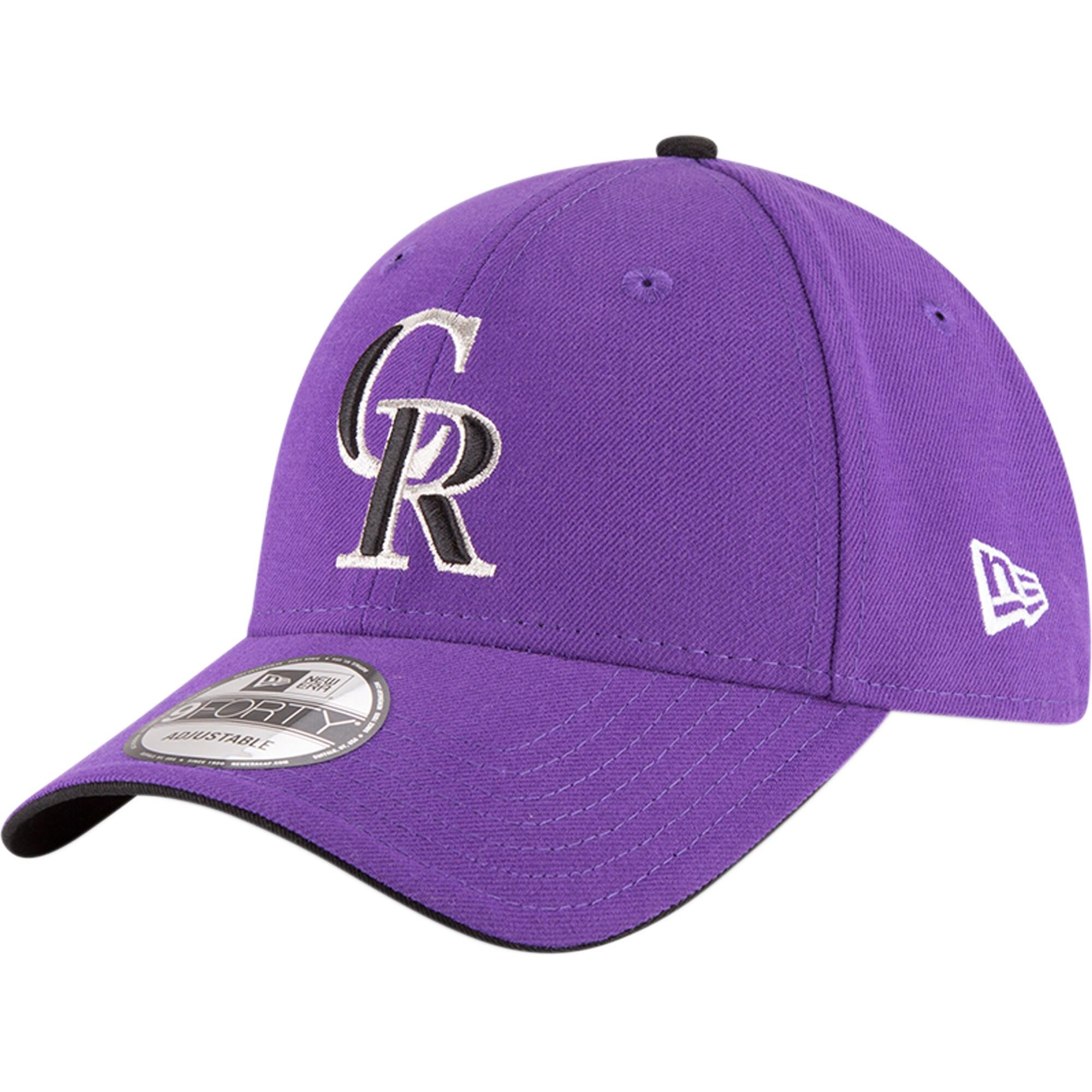 Colorado Rockies New Era Alternate 2 The League 9FORTY Adjustable Hat - Purple