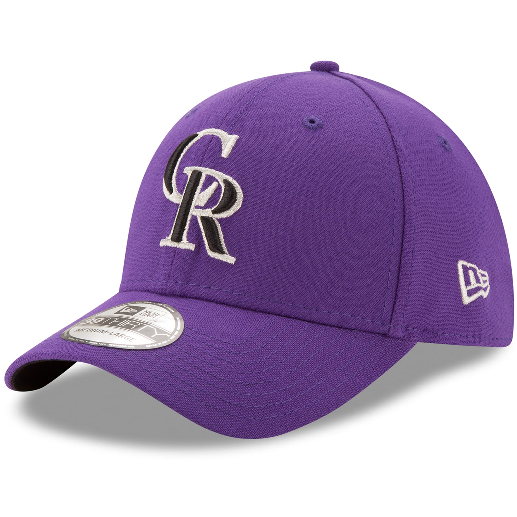 Colorado Rockies New Era Alternate 2 Team Classic 39THIRTY Flex Hat - Purple