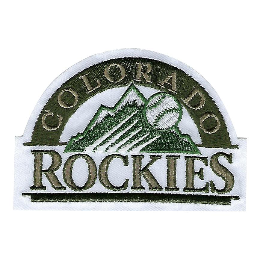 Colorado Rockies 2018 Memorial Day USMC Logo Patch