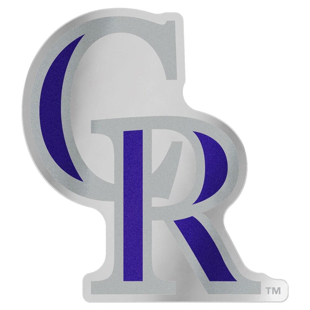"""Colorado Rockies WinCraft 5"""" x 2.5"""" Auto Emblem Decal"""