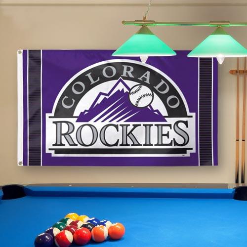 Colorado Rockies WinCraft Deluxe 3' x 5' Flag