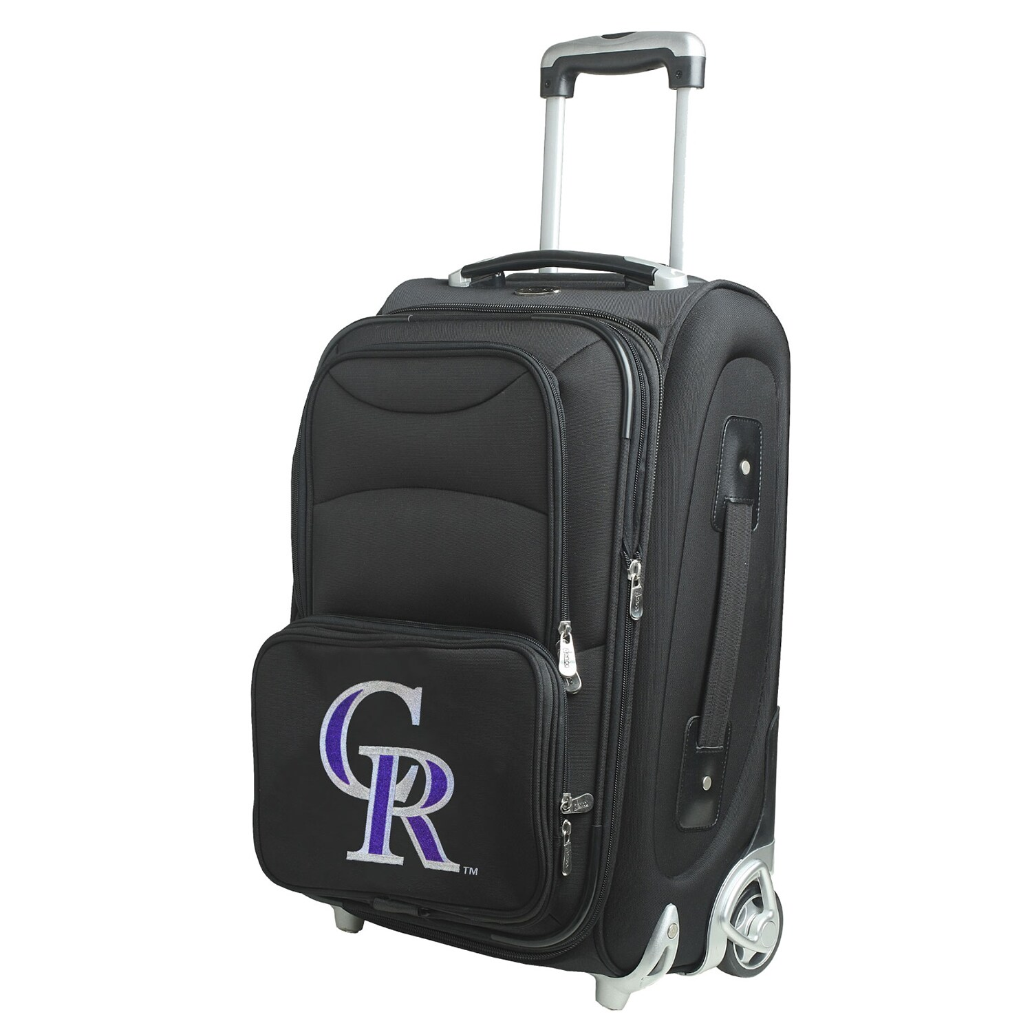 """Colorado Rockies 21"""" Rolling Carry-On Suitcase"""