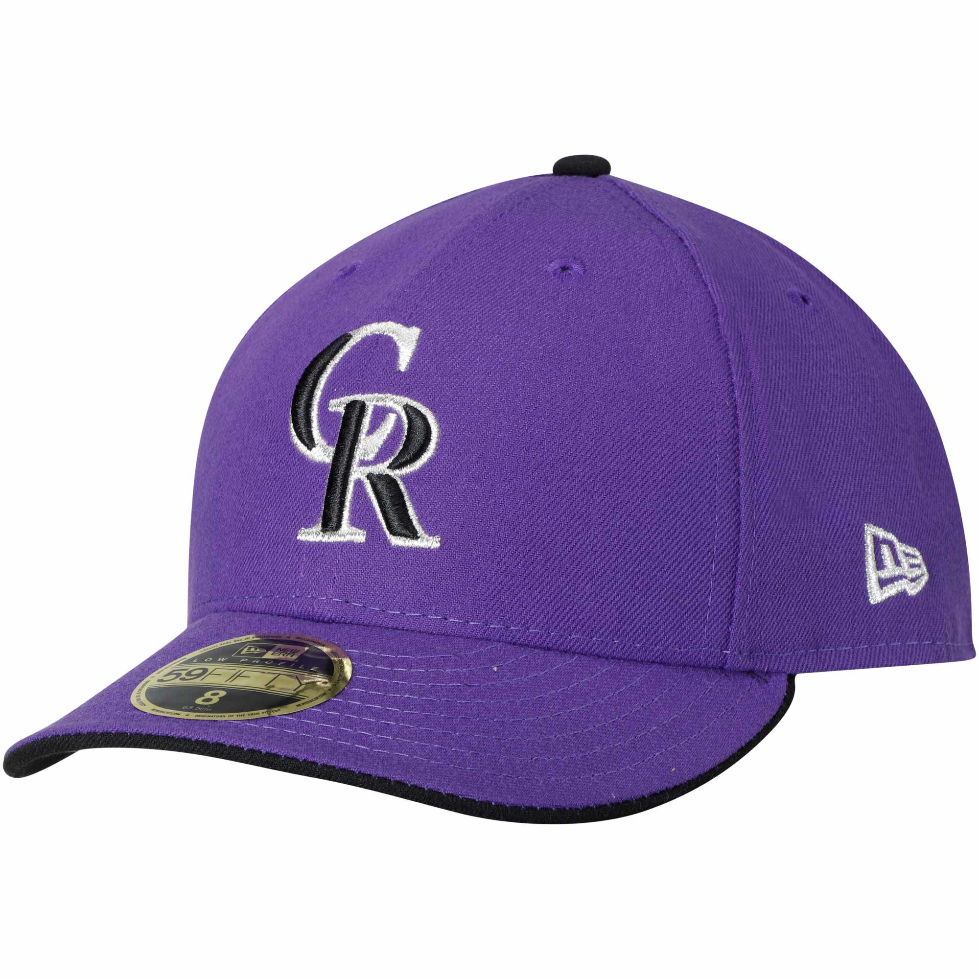 Colorado Rockies New Era Alternate 2 Authentic Collection On-Field Low Profile 59FIFTY Fitted Hat - Purple