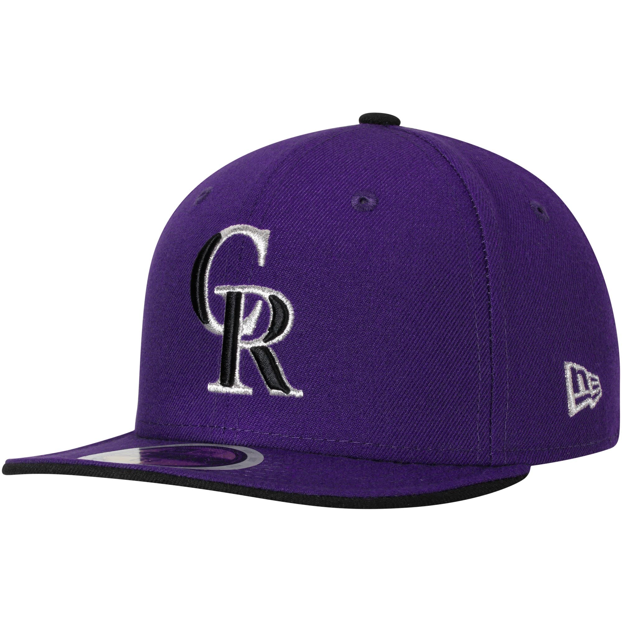 Colorado Rockies New Era Youth Authentic Collection On-Field Alternate 2 59FIFTY Fitted Hat - Purple