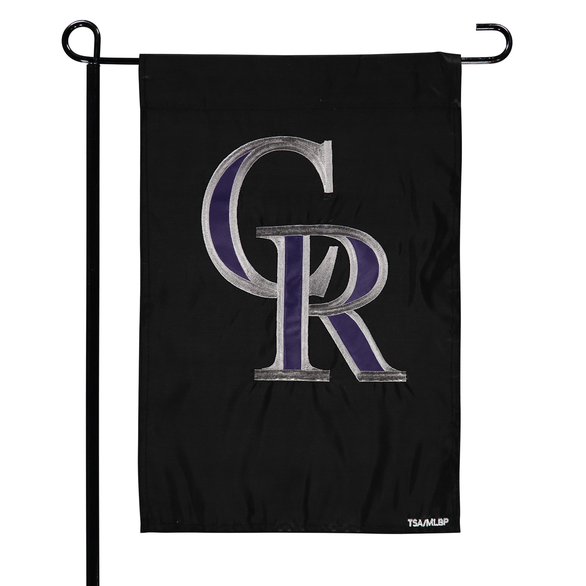 "Colorado Rockies 12.5"" x 19"" Applique Double-Sided Garden Flag"
