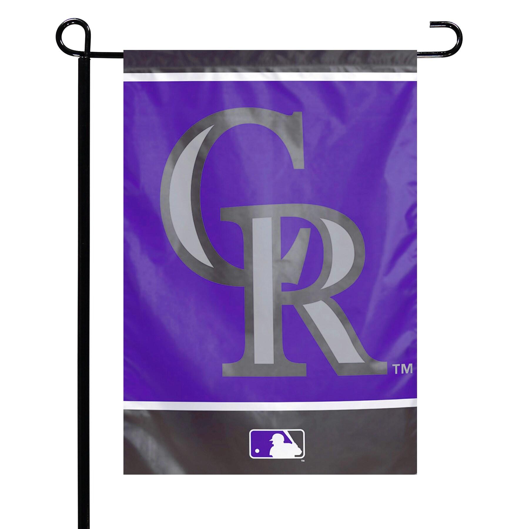 "Colorado Rockies WinCraft 12"" x 18"" Double-Sided Garden Flag"